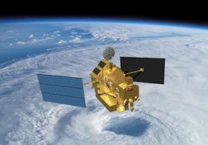 RAINFALL RESEARCH SATELLITE BEGINS DESCENT FROM ORBIT
