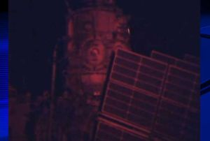 COSMONAUTS DEPLOY NEW SATELLITE AT INTERNATIONAL SPACE STATION