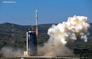 CHINESE, POLISH SATELLITES LAUNCHED BY LONG MARCH