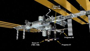 PROGRESS 58 DOCKS TO STATION'S ZVEZDA SERVICE MODULE