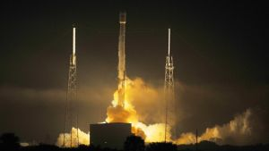 SPACEX PUTS ELECTRIC COMMUNICATIONS SATELLITES INTO ORBIT