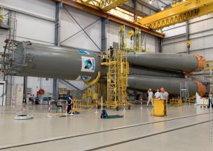 SOYUZ LAUNCH DOUBLE-HEADER SET FOR FRIDAY