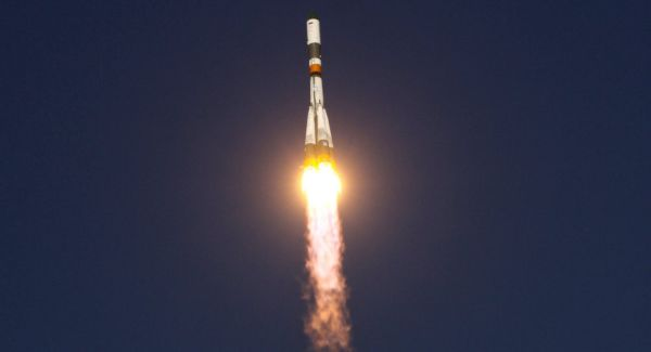 SOYUZ CARRIER WITH TWO GALILEO SATELLITES LAUNCHED FROM KOUROU SPACEPORT