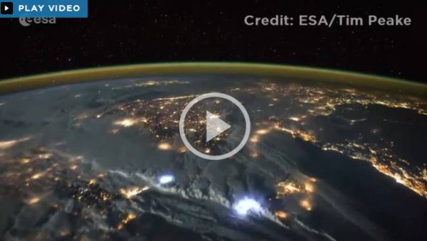 WATCH: TIME LAPSE OF SPACE STATION ORBITING EARTH SHOWCASES OUR DAZZLING PLANET
