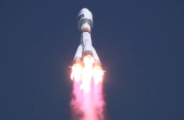 RUSSIA'S BRAND NEW COSMODROME LAUNCHES FIRST-EVER ROCKET