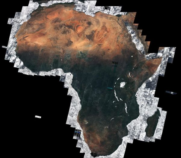 SENTINEL SATELLITE PICTURES A 'CLEAR SKIES' AFRICA