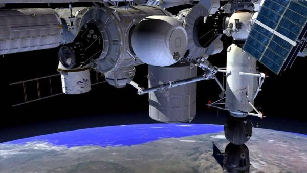 SPACE STATION INFLATABLE HABITAT WILL GET BLOWN UP ON THURSDAY