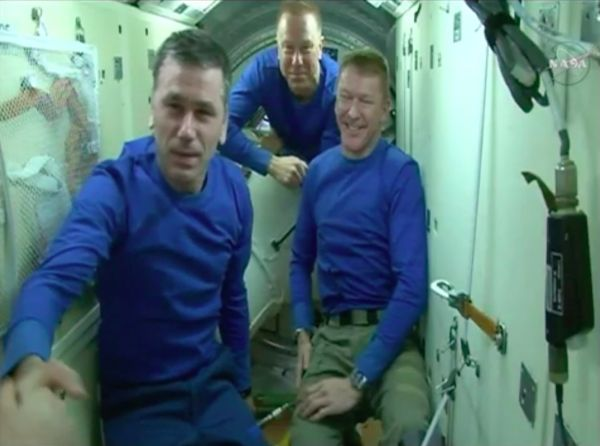 WATCH THREE ASTRONAUTS LEAVE THE INTERNATIONAL SPACE STATION TONIGHT