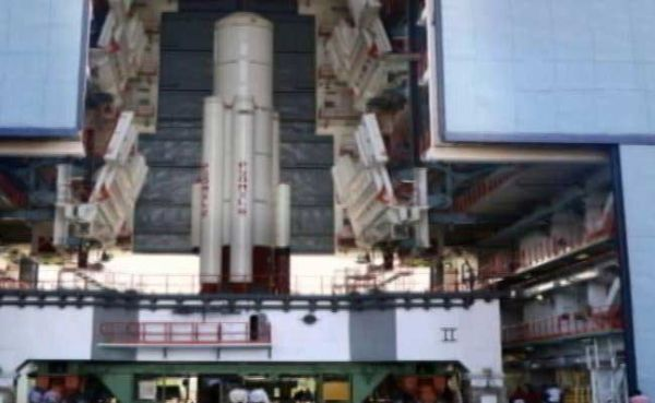IN ISRO'S RECORD SPACE LAUNCH, GOOGLE-MADE SATELLITE FINDS A PLACE