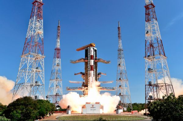 INDIA'S PSLV BLASTS OFF WITH 20 SATELLITES