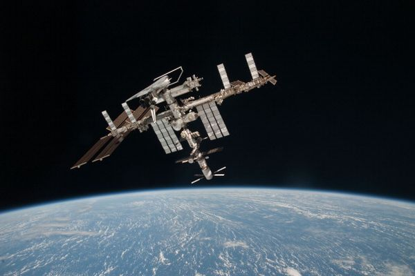 NASA UPGRADES THE INTERNET CONNECTION ON THE INTERNATIONAL SPACE STATION