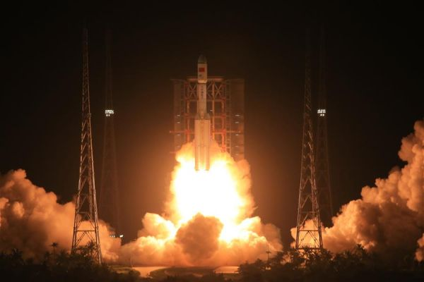 CHINA'S NEW LONG MARCH 7 ROCKET SUCCESSFUL ON FIRST FLIGHT