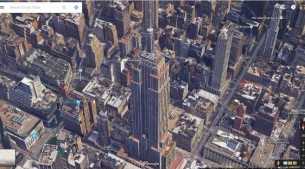 GOOGLE EARTH NOW INCLUDES AMAZING NASA SATELLITE IMAGES