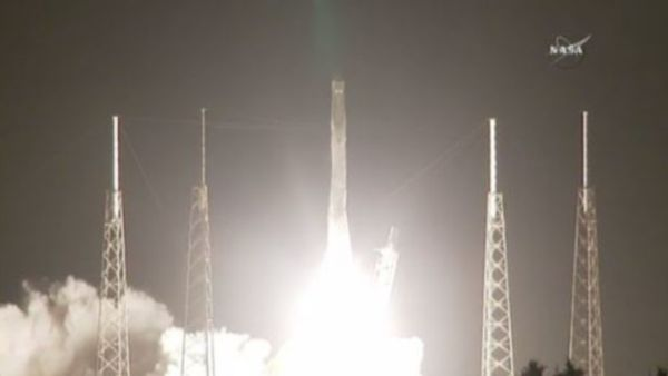 SPACEX FALCON 9 ROCKET LAUNCHES ON MISSION TO ISS