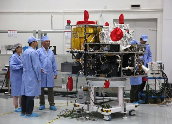CHINESE SATELLITE IS ONE GIANT STEP FOR THE QUANTUM INTERNET