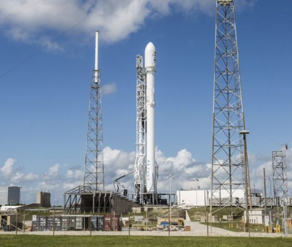 WATCH SPACEX COUNT DOWN TO LAUNCH OF JCSAT-16 SATELLITE AND A ROCKET LANDING