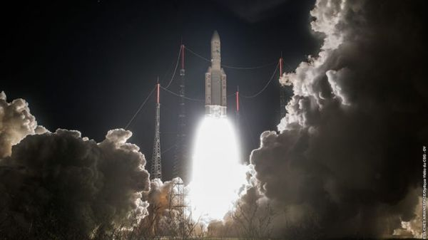 INTELSAT CELEBRATES DOUBLE SUCCESS WITH ARIANE 5 LAUNCH