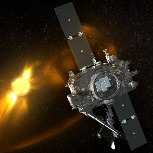 A NASA SATELLITE ENDS THE SILENT TREATMENT