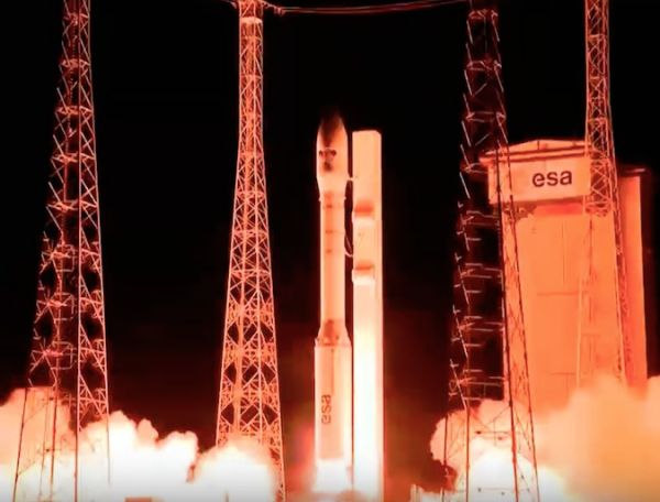 VEGA ROCKET HAULS UP QUINTET OF EARTH OBSERVATION SATELLITES