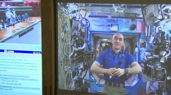 VOTING FROM THE ISS: VIDEO LINK FOR COSMONAUTS, EMAIL FOR ASTRONAUTS