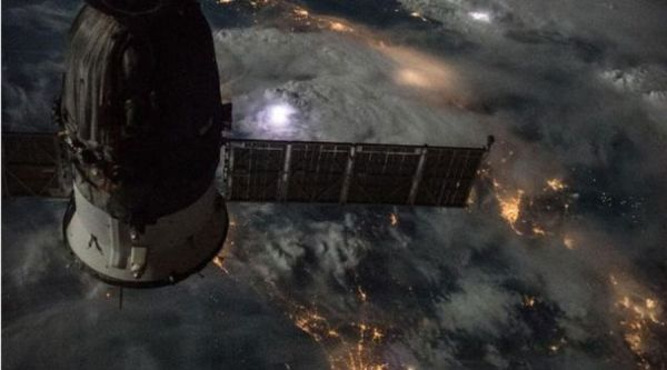 BREATHTAKING IMAGE OF MEDITERRANEAN STORM TAKEN FROM SPACE STATION