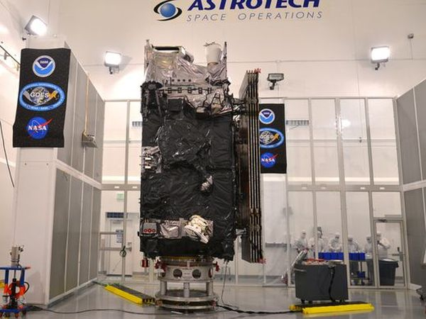 NEW-GENERATION WEATHER SATELLITE NEARS NOVEMBER LAUNCH