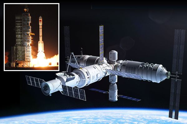 CHINA TO DOMINATE SPACE WITHIN 10 YEARS AS IT BECOMES ONLY NATION WITH PERMANENT ORBITAL OUTPOST