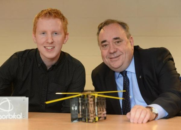 GLASGOW FIRM ALBA ORBITAL READY TO LAUNCH TINY SATELLITE INTO OUTER SPACE
