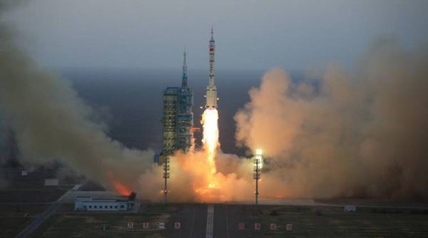 CHINA'S SPACE LAB LAUNCHES MICRO-SATELLITE