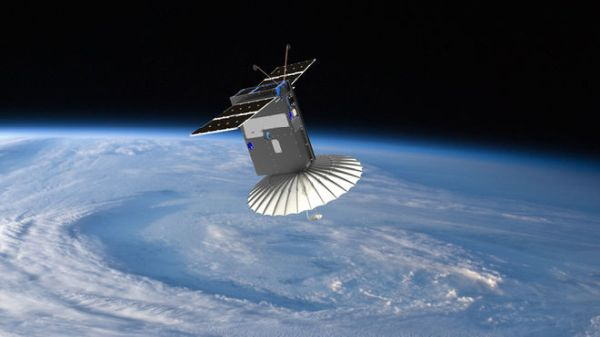 TINY 'BLACK MAGIC' SATELLITE PACKS ORIGAMI-LIKE RADAR DISH