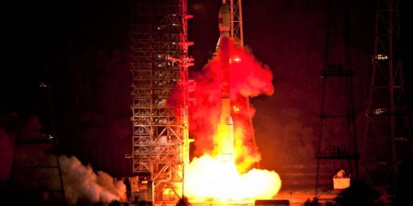 LONG MARCH 3C LAUNCHES FOURTH TIANLIAN-1 COMMUNICATIONS SATELLITE