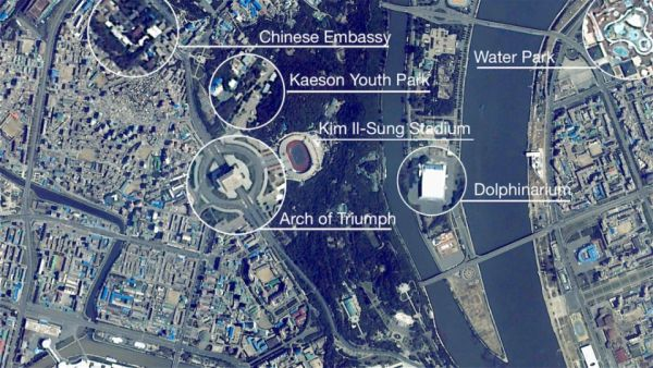 INCREDIBLE FOOTAGE FROM THE INTERNATIONAL SPACE STATION REVEALS LIFE INSIDE PYONGYANG THAT IS SO CLE
