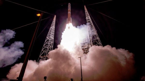 U.S. LAUNCHES ITS HIGHEST CAPACITY MILITARY COMMUNICATIONS SATELLITE