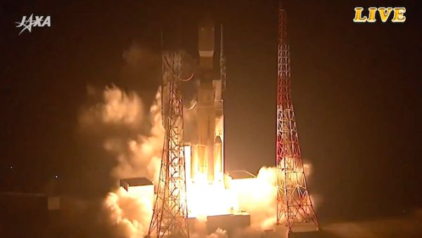JAXA LAUNCHES H-IIB ROCKET WITH HTV-6 RESUPPLY MISSION TO STATION