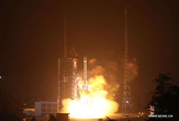 CHINA LAUNCHES NEW-GENERATION WEATHER SATELLITE