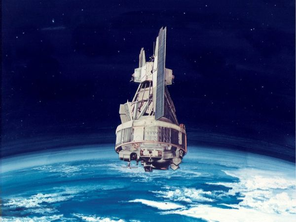 THE DAY THE NIMBUS WEATHER SATELLITE EXPLODED