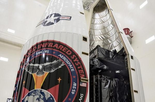 U.S. AIR FORCE PREPARES SBIRS SATELLITE FOR LAUNCH