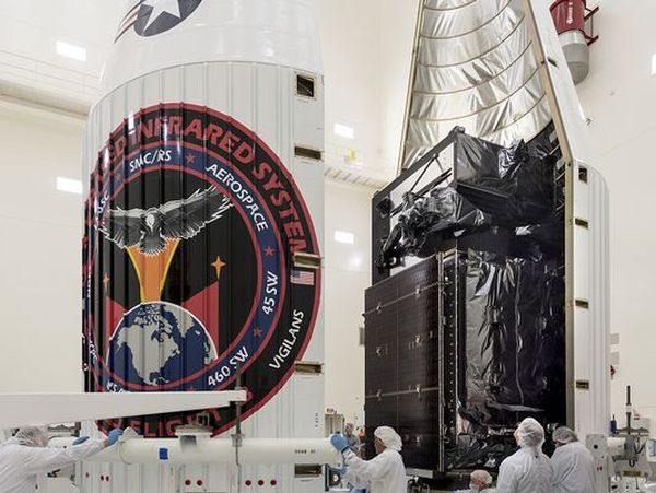 MISSILE WARNING SATELLITE PLACED ON ATLAS V ROCKET