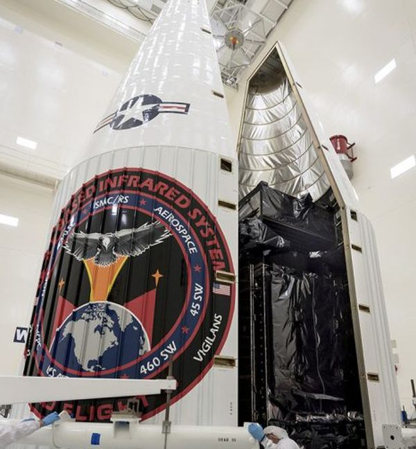 NEXT SBIRS MISSILE DETECTION SATELLITE SET FOR LAUNCH