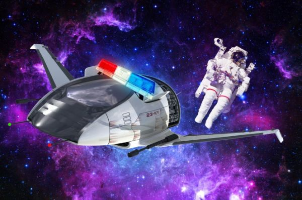 DO WE NEED TO ESTABLISH A POLICE FORCE IN SPACE?