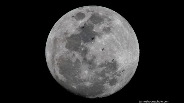 PHOTOGRAPHER EXPLAINS HOW HE CAPTURED RARE SPACE STATION MOON PHOTO