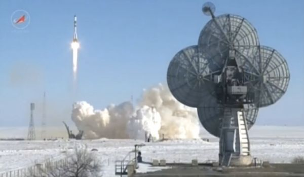 SOYUZ BLASTS OFF ON RUSSIAN RESUPPLY RUN TO INTERNATIONAL SPACE STATION