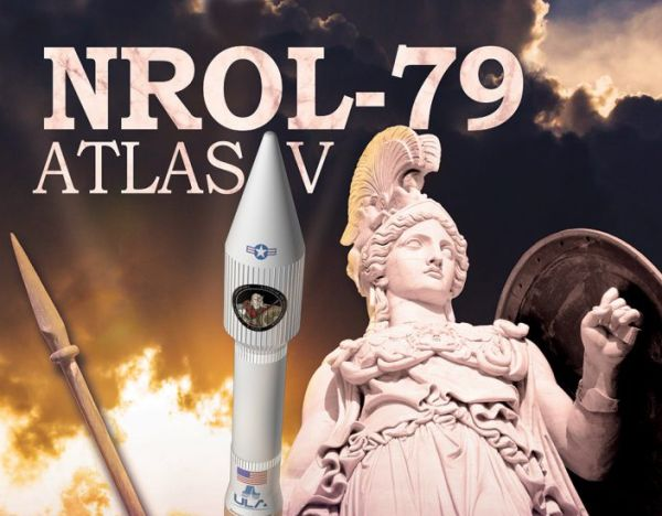 ULA READIES ATLAS V FOR LAUNCH OF NROL-79 RECONNAISSANCE SATELLITE