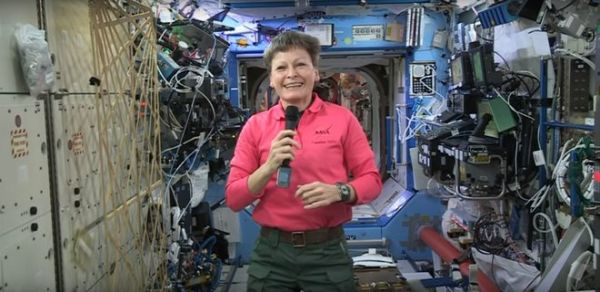 SPACE STATION CREW RUNNING LOW ON CHOCOLATE AHEAD OF EASTER