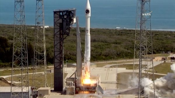 ATLAS 5 ROCKET SUCCESSFULLY BOOSTS CYGNUS CARGO SHIP ON TREK TO SPACE STATION