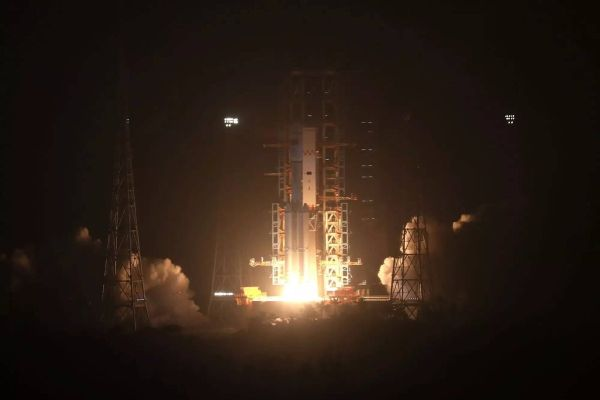 FIRST SUPPLY SHIP FOR CHINESE SPACE STATION LIFTS OFF ON TEST FLIGHT