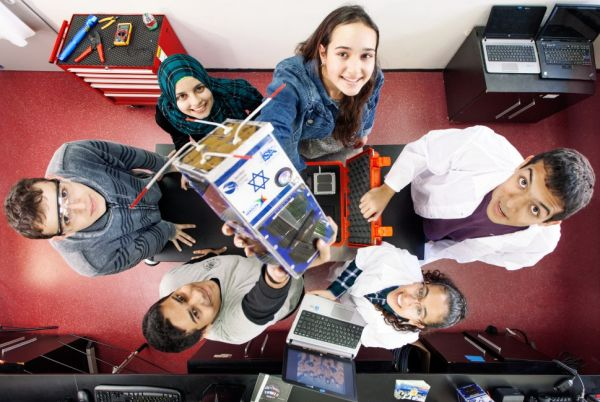 ISRAELI HIGH-SCHOOL STUDENTS LAUNCH NANO-SATELLITE INTO SPACE