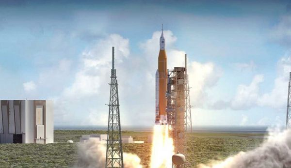 THE FIRST SPACE LAUNCH SYSTEM FLIGHT WILL PROBABLY BE DELAYED