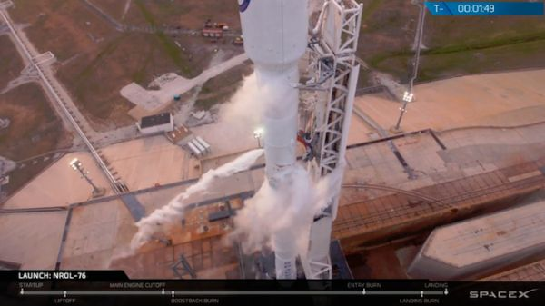 SPACEX LAUNCH SCRUBBED IN FINAL MINUTE OF COUNTDOWN