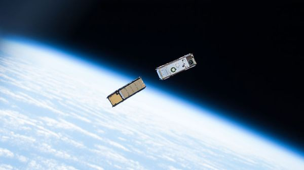 WEEK'S LAST CUBESATS DEPLOYED AS CREW STUDIES SPACE HEALTH